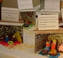 Exposition des crèches de Noël.